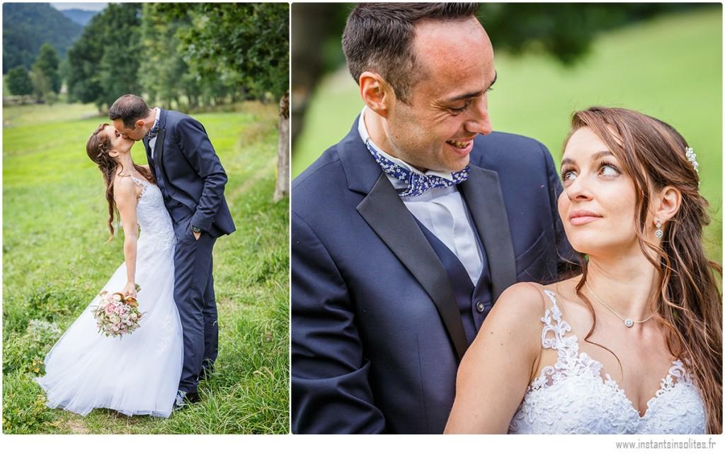 Photo de couple des mariés, portrait