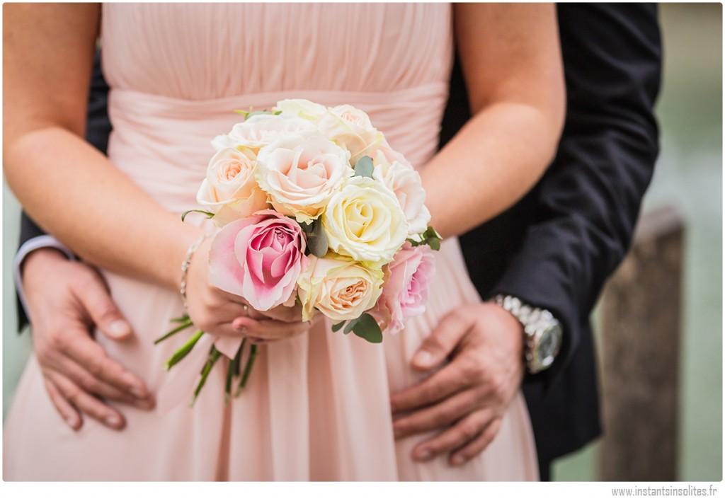 Bouquet de la mariée à Annecy
