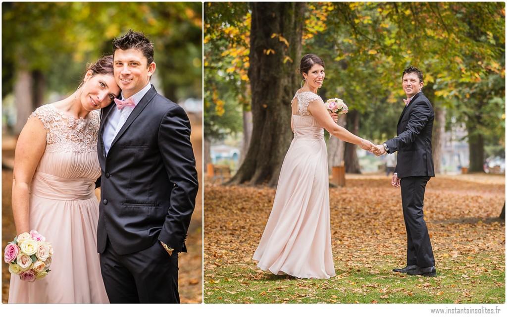 Séance photos de couple mariés à Annec