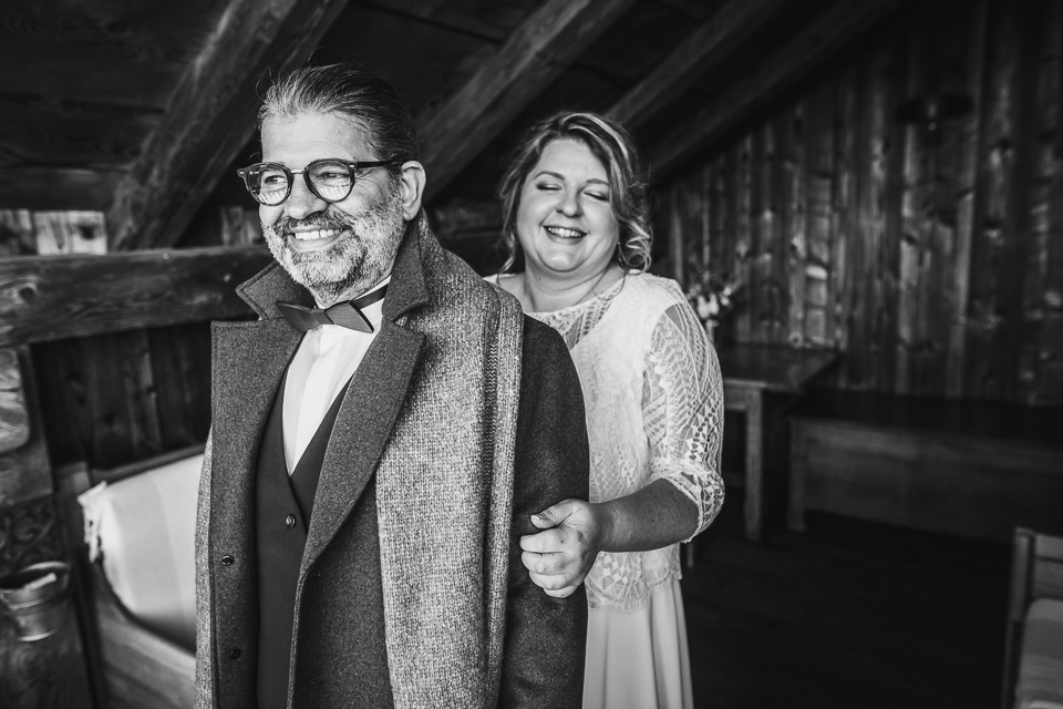 photographe mariage haute savoie hiver