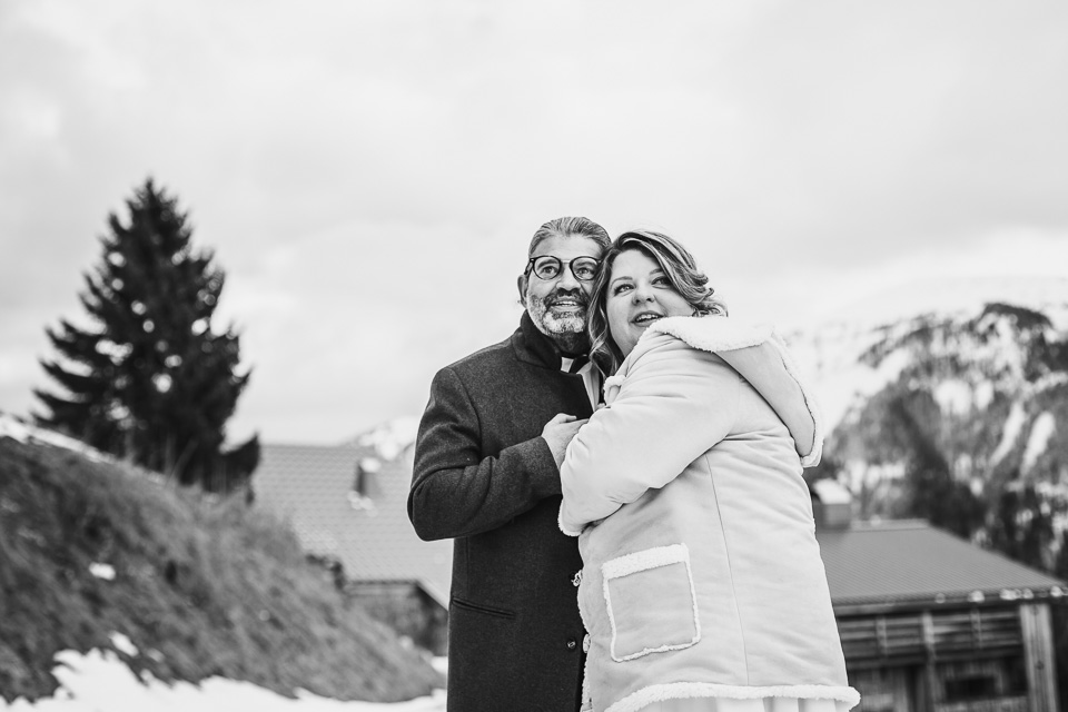photographe mariage hiver