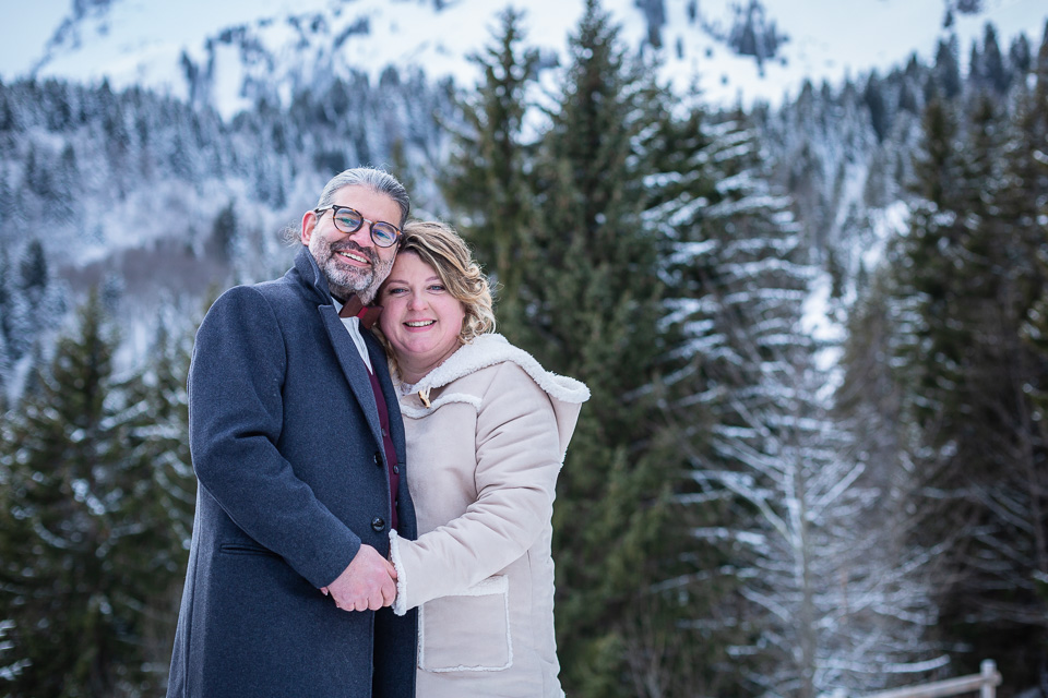 mariage haute savoie hiver gite du passant