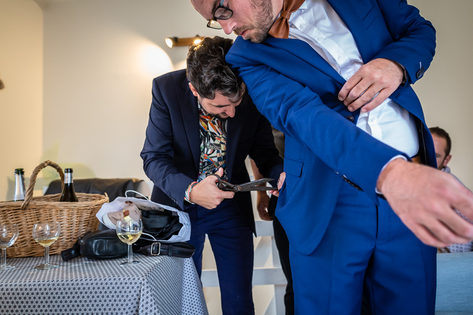 Photos préparatifs mariage